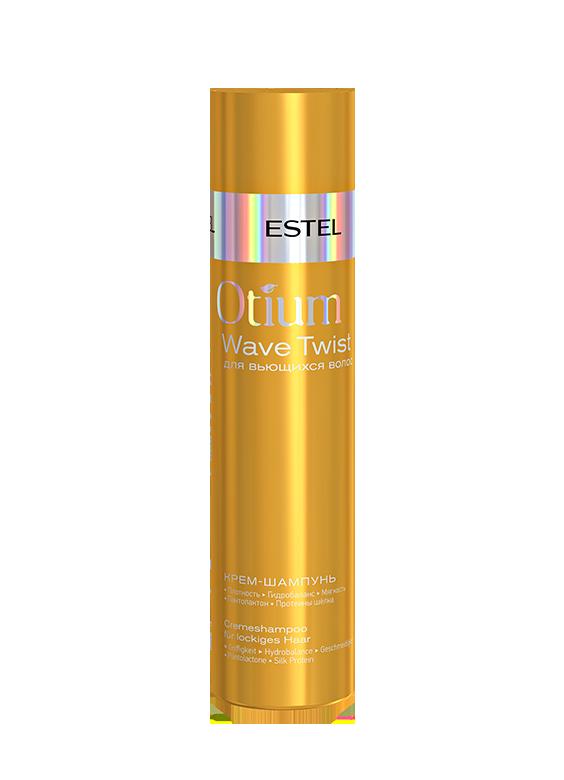 ESTEL PROFESSIONAL Крем-шампунь для вьющихся волос / OTIUM Twist 250 мл фото