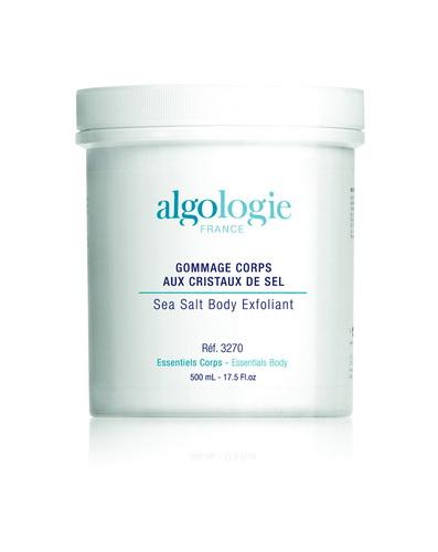 ALGOLOGIE Пилинг с морской солью для тела 500млСкрабы<br>100% морской эксфолиант с легкой и нежирной текстурой. Эффективно отшелушивает отмершие клетки эпидермиса и придает ощущение комфорта коже. Действие: Скраб обеспечивает эффективное и деликатное отшелушивание отмерших клеток эпидермиса, дарит ощущение гладкости и комфорта. Результат: Кожа становится мягкой, и шелковистой. Благодаря минералам и микроэлементам, которыми обогащен эксфолиант, кожа обновлена.<br>