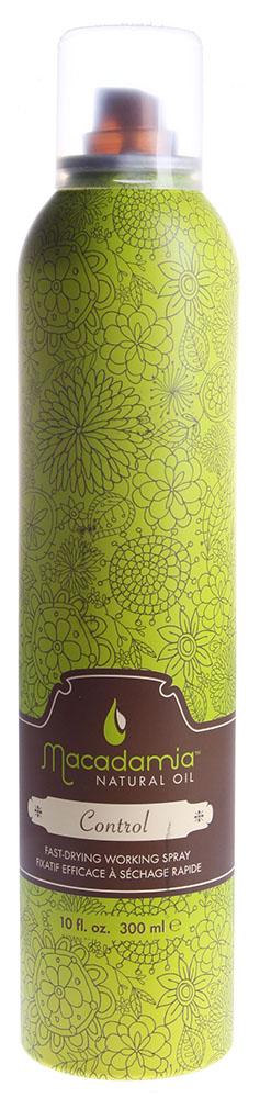 MACADAMIA Natural Oil Лак влагостойкий подвижной фиксации / Control Hair Spray 300мл