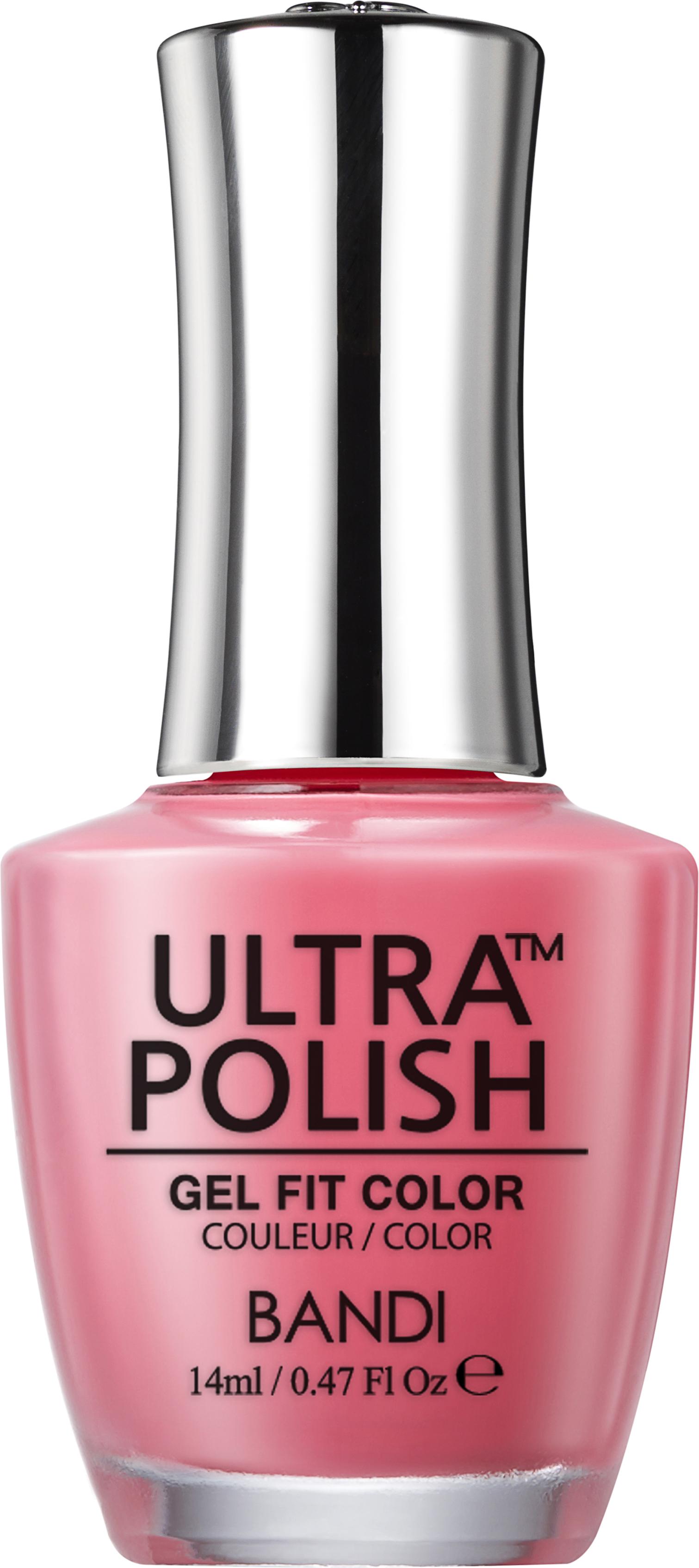 Купить BANDI UP104 ультра-покрытие долговременное цветное для ногтей / ULTRA POLISH GEL FIT COLOR 14 мл, Розовые