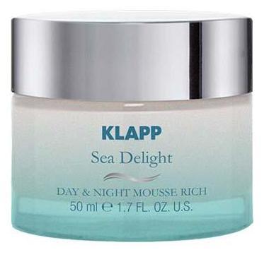 Купить KLAPP Крем-мусс питательный для лица / SEA DELIGHT 50 мл