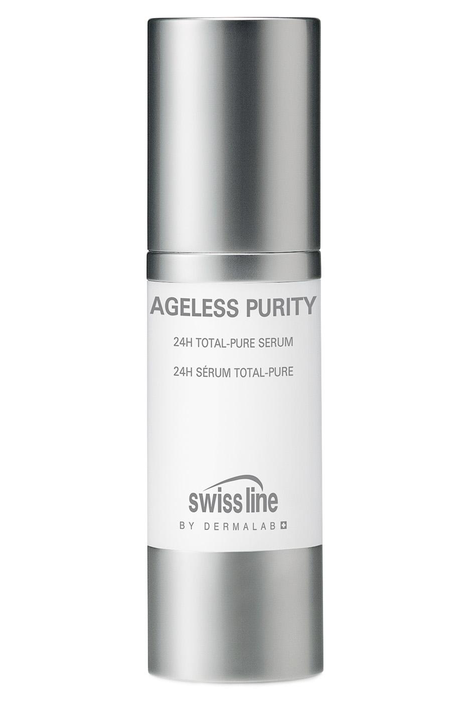SWISS LINE Сыворотка себорегулирующая антивозрастная для кожи с акне / 24h Total Pure Serum 30 мл