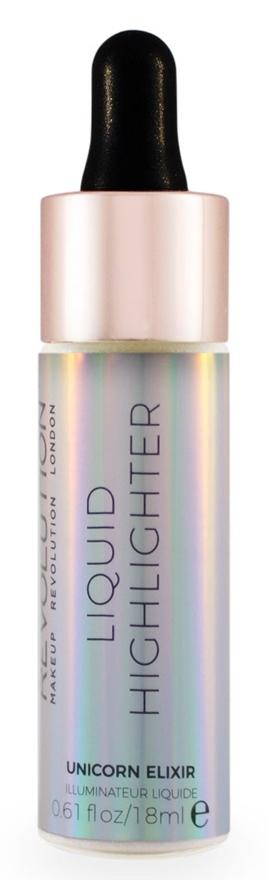 MAKEUP REVOLUTION Хайлайтер жидкий для лица / LIQUID HIGHLIGHTER, Unicorn Elixir