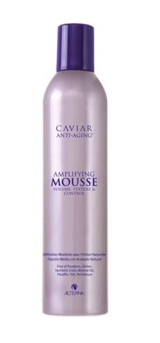 ALTERNA Пена для укладки волос / Alterna Caviar Anti-aging Seasilk Mousse 400млМуссы<br>Облегченная пена для увеличения объема и плотности волос. Позволяет создать необходимую текстуру, обеспечивает мягкую фиксацию. В состав мусса входит экстракт икры, который обеспечивает увлажнение и восстановление волос. Активные ингредиенты: экстракт икры. Способ применения: нанесите немного пены на волосы, уделяя внимание корням и сделайте укладку феном, придавая объем от роста волос.<br>