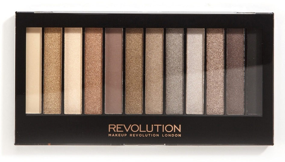 MAKEUP REVOLUTION Палетка теней для век, нюдовая / REDEMPTION PALETTE Iconic 2 - Тени