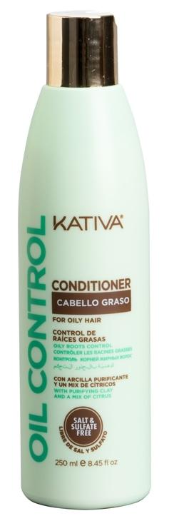 Купить KATIVA Кондиционер для жирных волос Контроль / OIL CONTROL 250 мл