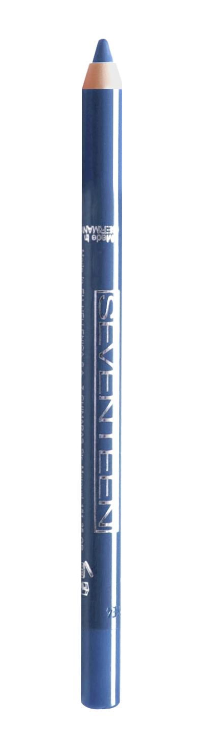 SEVENTEEN Карандаш водостойкий с витамином Е для век, 16 голубой бриллиант / Super Smooth W/P & Longstay 1,2 г
