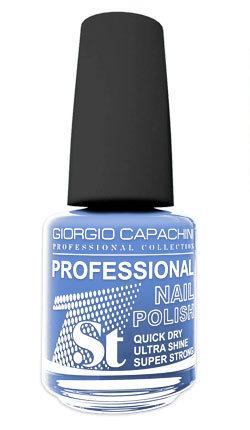 Купить GIORGIO CAPACHINI 113 лак для ногтей / 1-st Professional 16 мл, Синие