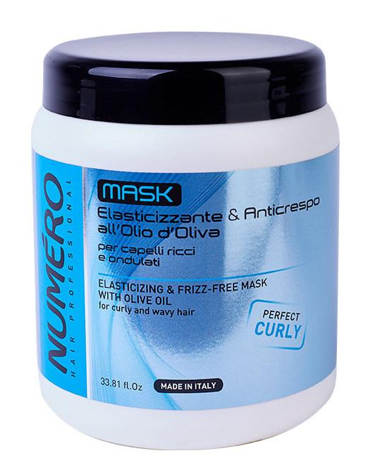 BRELIL professional Маска с оливковым маслом для вьющихся и волнистых волос / Numero 1000 мл