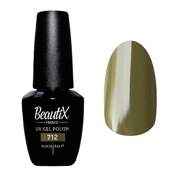 Купить BEAUTIX 712 гель-лак для ногтей 15 мл, Зеленые