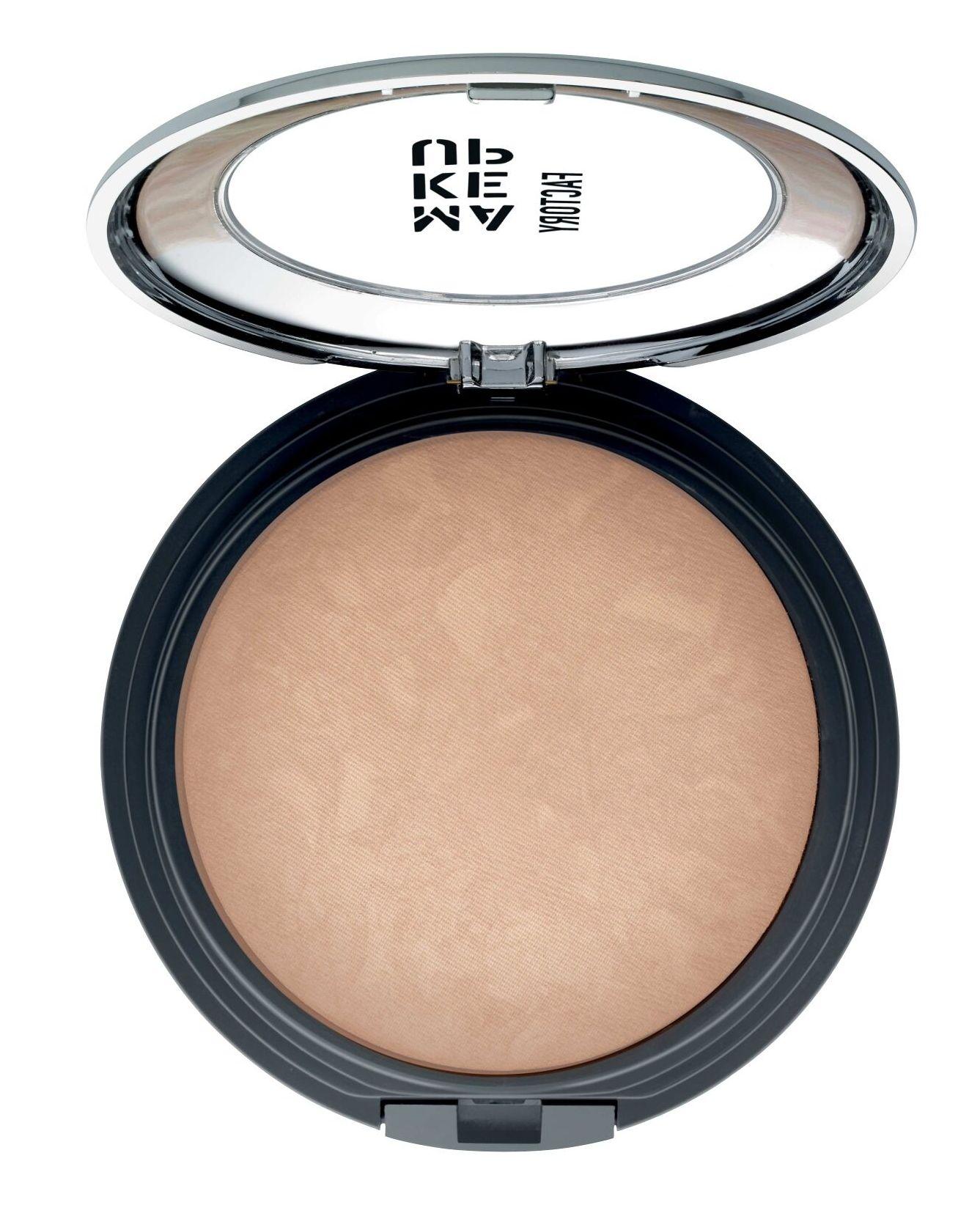 MAKE UP FACTORY Пудра запеченная бронзирующая с эффектом сияния, 05 светлый загар / Touch of Tan Bronzer 9,5 г фото