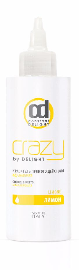CONSTANT DELIGHT Краситель прямого действия без аммиака, лимон / Crazy by Delight 150 мл фото
