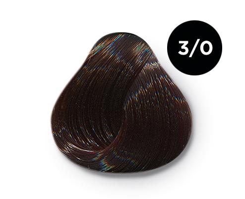 Купить OLLIN PROFESSIONAL 3/0 краска для волос, темный шатен / OLLIN COLOR 100 мл
