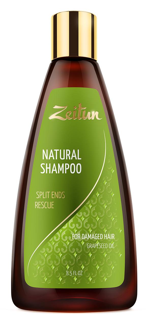ZEITUN Шампунь для поврежденных волос Против сечения волос 250 мл