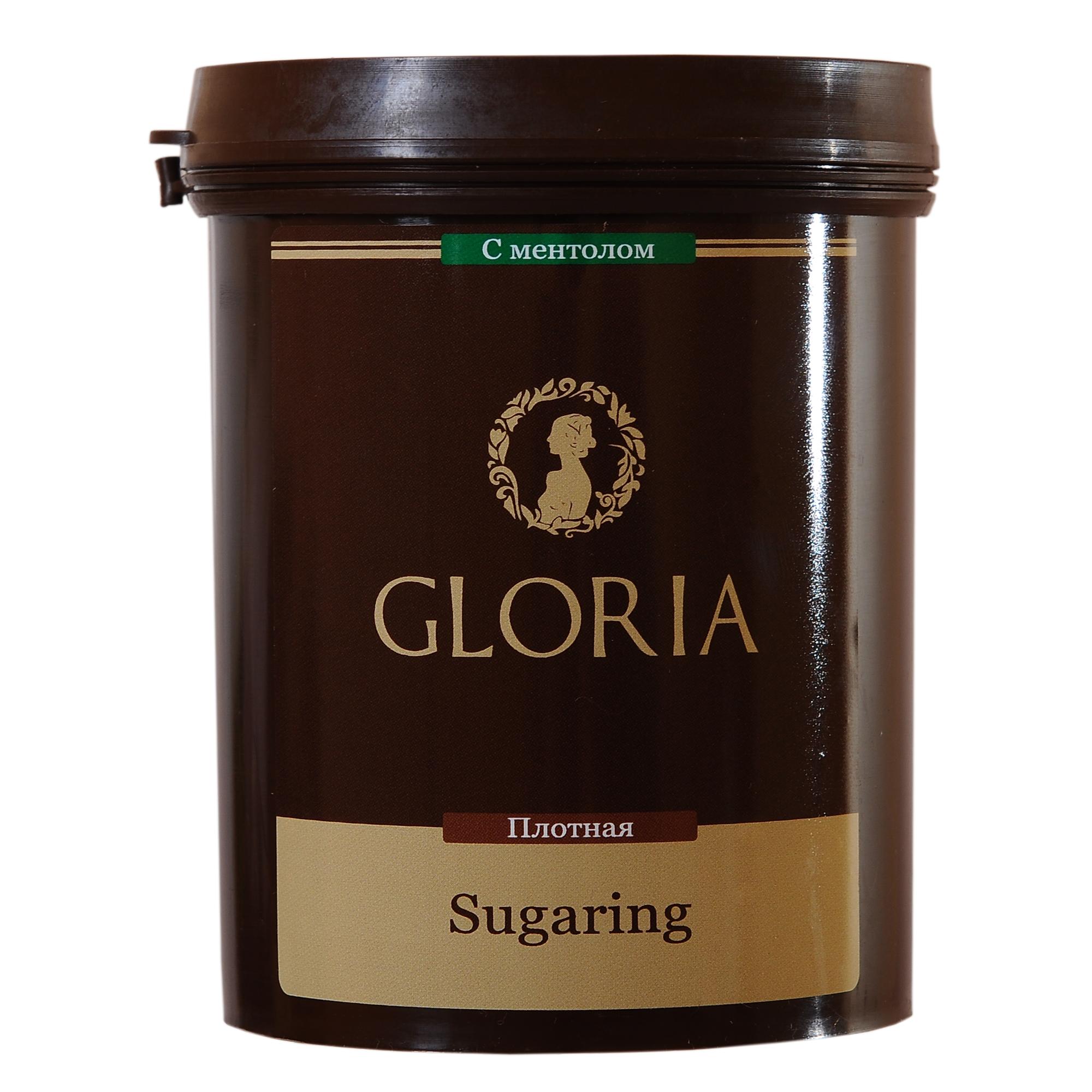 GLORIA Паста для шугаринга Gloria твердая с ментолом 0,8 кг