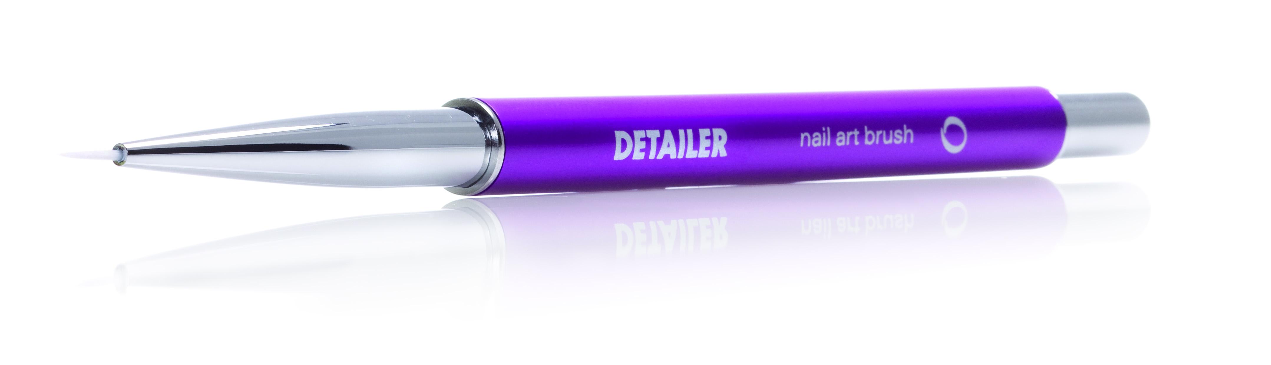 ORLY Кисть для дизайна Brush Nail Artist DetailerКисти<br>Инструмент для прорисовки мелких деталей и смешивания красок, что поможет мастерам маникюра совершенствовать свои художественные навыки. Инструмент имеет удобную алюминиевую ручку, сверху покрытую пластиком, и ультратонкую короткую кисточку, выполненную из нейлона.<br><br>Класс косметики: Универсальная