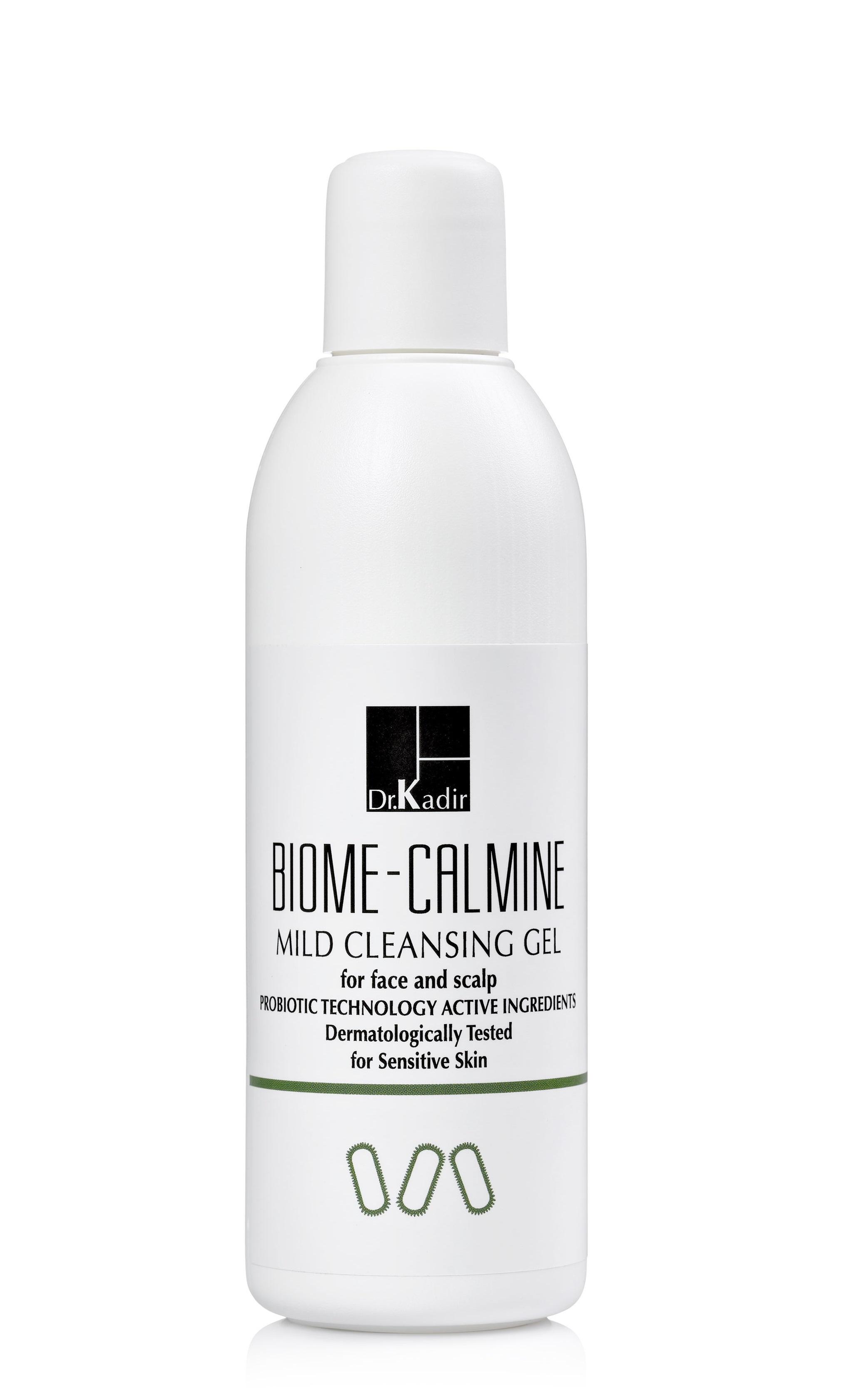 Купить Dr. KADIR Гель мягкий очищающий с пробиотиками / Biome-Calmine Mild Cleansing Gel 250 мл