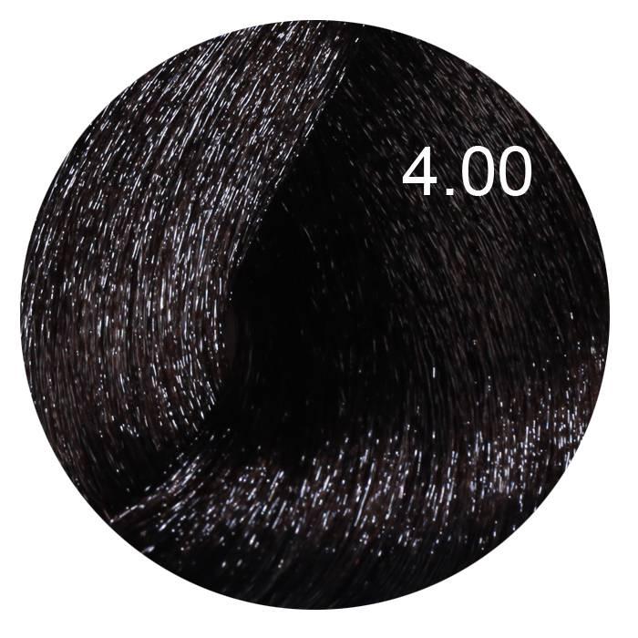 FARMAVITA 4.00 краска для волос, насыщенный каштановый / LIFE COLOR PLUS 100 мл