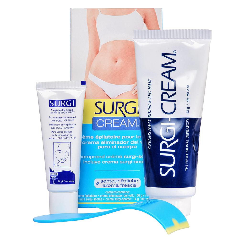 SURGI Набор для удаления волос в области бикини / Cream BikiniLeg