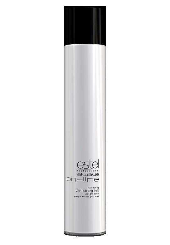 ESTEL PROFESSIONAL Лак для волос ультрасильной фиксации / Always On-Line 400мл