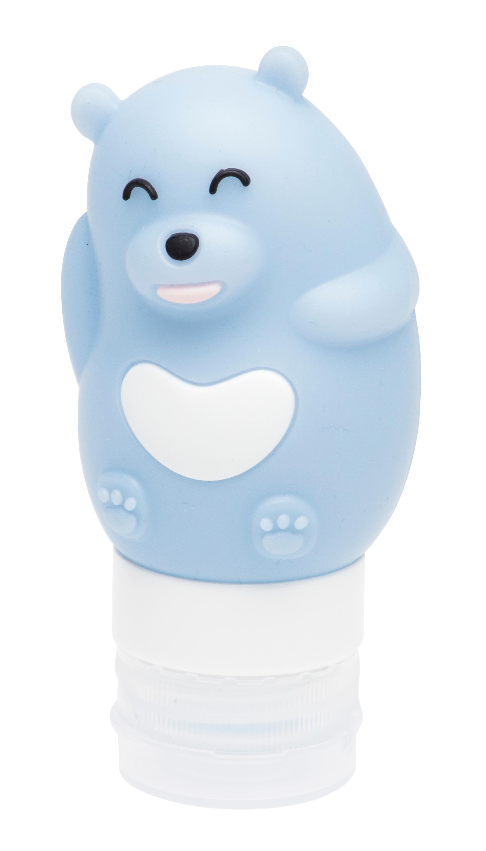Купить DEWAL BEAUTY Баночка дорожная для путешествий Медведь, цвет синий 80 мл
