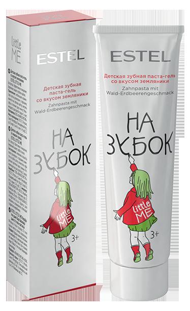 ESTEL PROFESSIONAL Паста-гель зубная детская со вкусом земляники / LITTLE ME 50 мл
