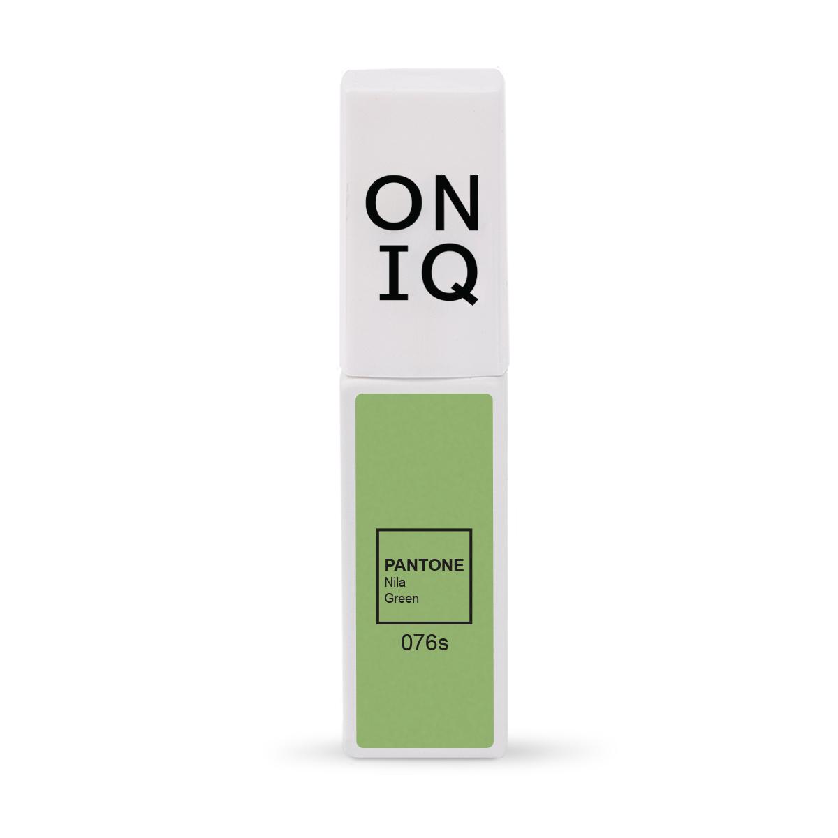 ONIQ Гель-лак для покрытия ногтей, Pantone: Nile green, 6 мл -  Гель-лаки