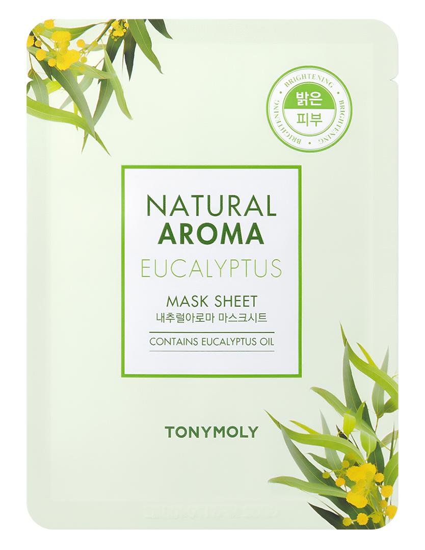TONYMOLY Маска для лица / Natural Aroma Eucalyptus Oil Mask 21 г