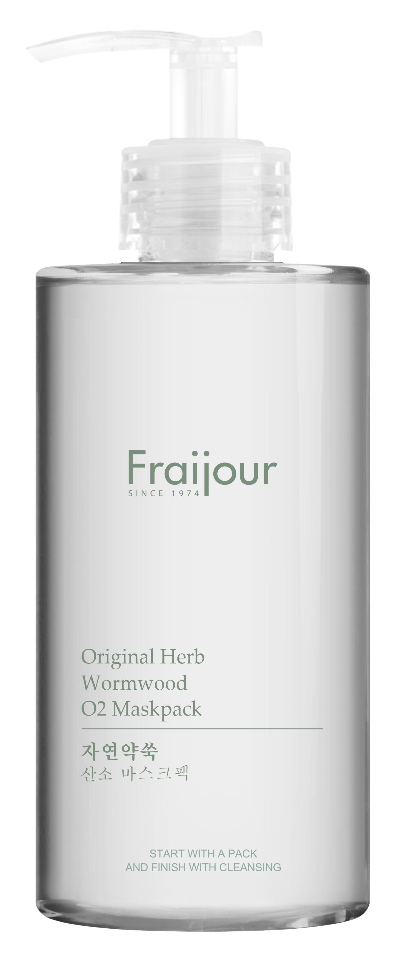 Купить EVAS Маска кислородная для лица / Fraijour Original herb wormwood O2 Maskpack 300 мл