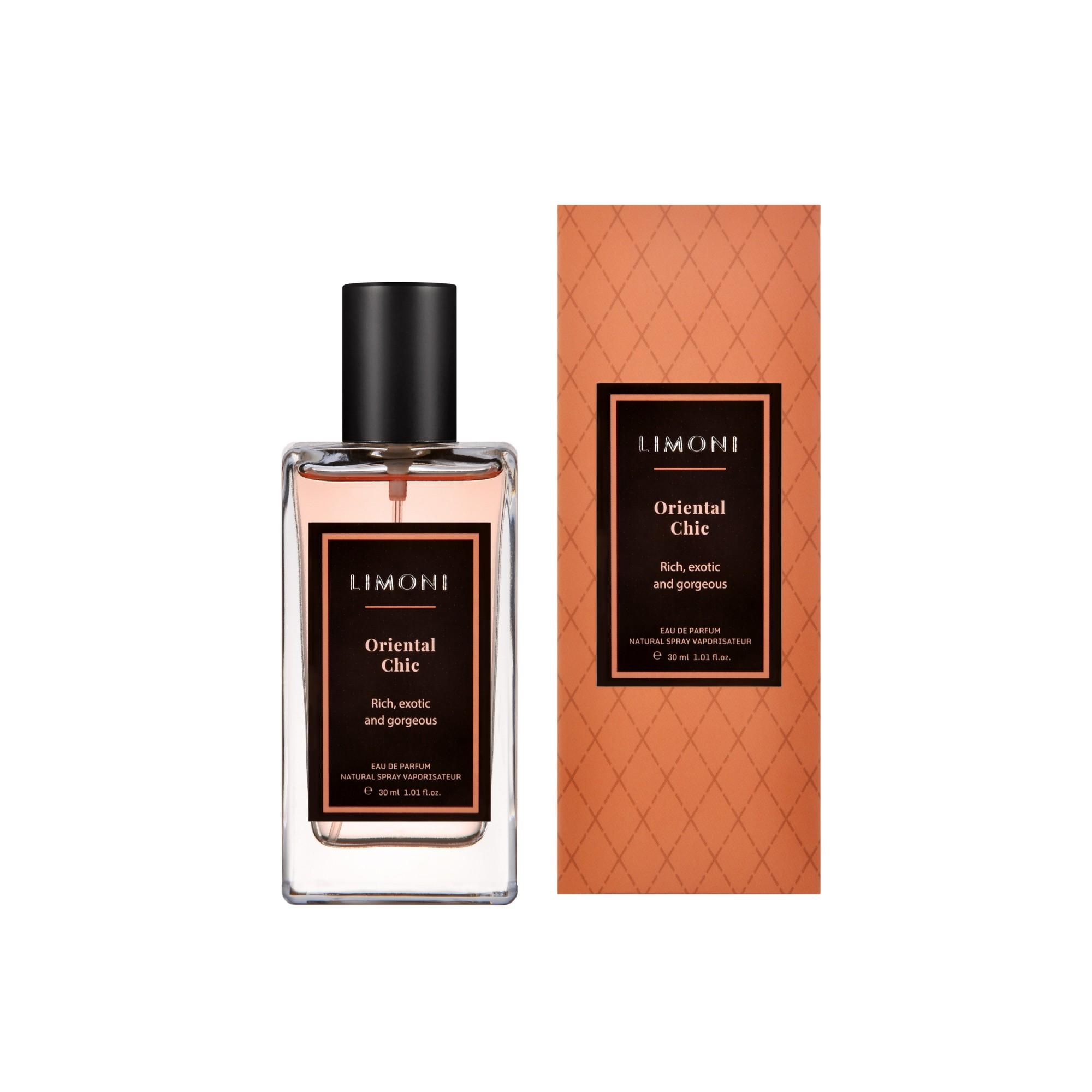 LIMONI Вода парфюмерная Oriental Сhic / LIMONI Eau de Parfum, 30 мл