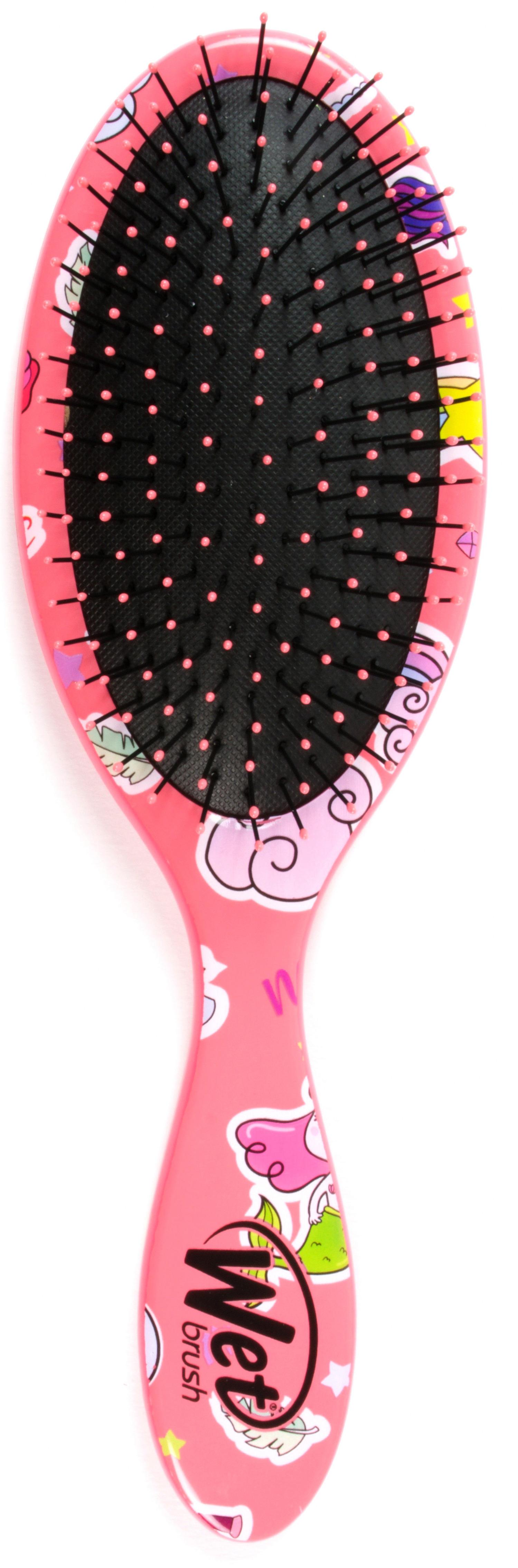 Wet Brush Щетка для спутанных волос, розовый единорог / WETBRUSH HAPPY HAIR FANTASY - Щетки