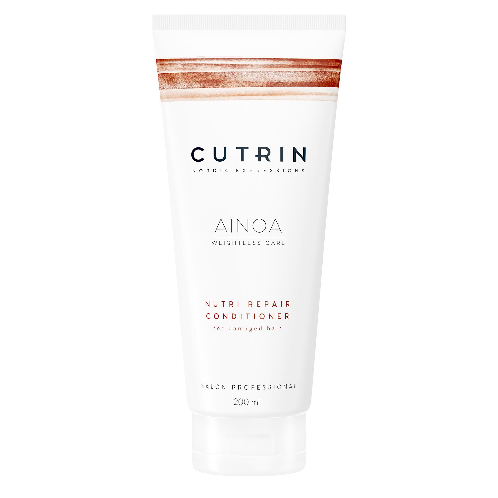 CUTRIN Кондиционер для восстановления волос / AINOA NUTRI REPAIR 200 мл.