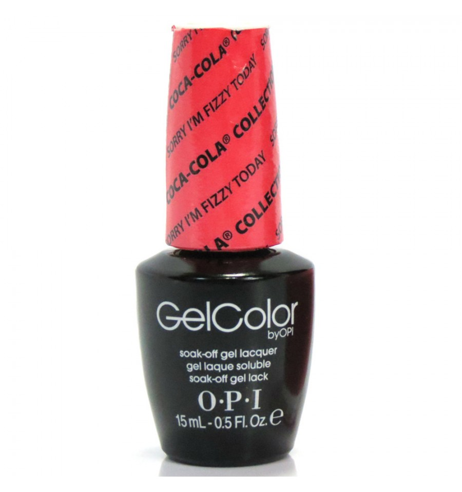 """OPI ����-��� ��� ������ """"Sorry I'm Fizzy Today"""" / GELCOLOR 15��~"""