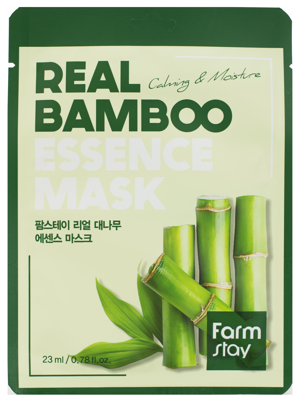 Купить FARMSTAY Маска тканевая с экстрактом бамбука для лица 23 мл