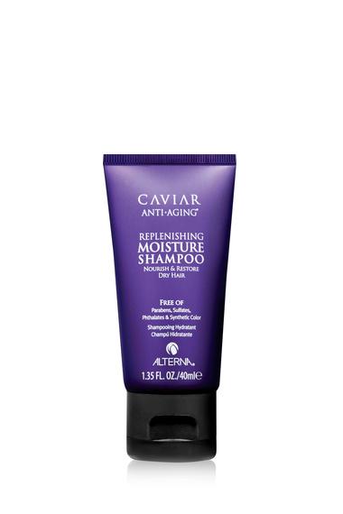 ALTERNA Шампунь увлажняющий с морским шелком / CAVIAR 40 мл alterna увлажняющий шампунь c морским шелком caviar anti aging replenishing moisture shampoo 40 мл