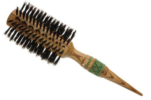 HAIRWAY Брашинг HW Flexion дерев. натур. щетина 72ммБрашинги<br>Брашинг на деревянной основе с натуральной щетиной Hairway Flexion. Ручка деревянная. Диаметр (мм): 32<br>