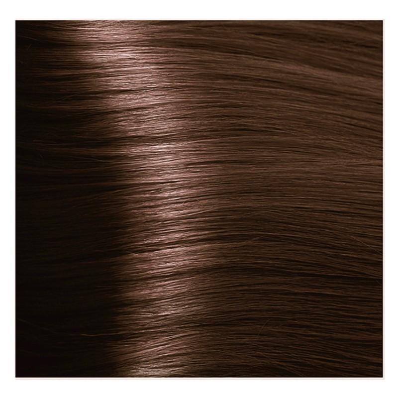 Купить KAPOUS 6.35 крем-краска для волос / Hyaluronic acid 100 мл, Темно-коричневый