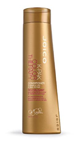 JOICO Кондиционер восстанавливающий для окрашенных волос / K-PAK COLOR THERAPY 300млКондиционеры<br>Кондиционирует, распутывает и эффективно сохраняет цвет благодаря питанию кутикулы. Способ применения: распределите небольшое количество кондиционера на чистые, влажные волосы. Расчешите, оставьте для воздействия на 1 минуту, смойте.<br><br>Вид средства для волос: Восстанавливающий<br>Типы волос: Окрашенные<br>Назначение: Секущиеся кончики