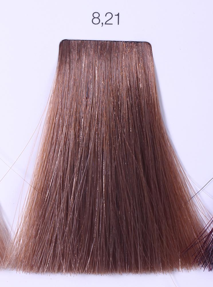 LOREAL PROFESSIONNEL 8.21 краска для волос / ИНОА ODS2 60грКраски<br>INOA - первый краситель, позволяющий достичь желаемых результатов окрашивания, окрашивать тон в тон, осветлять волосы на 3 тона, идеально закрашивает седину и при этом не повреждает структуру волос, поскольку не содержит аммиака. Получить стойкие, насыщенные цвета позволяет инновационная технология Oil Delivery System (ODS) система доставки красителя при помощи масла. Благодаря удивительному действию системы ODS при нанесении, смесь, обволакивая волос, как льющееся масло, проникает внутрь ткани волос, чтобы создать безупречный цвет. Уникальность системы ODS состоит также в ее умении обогащать структуру волоса активными защитными элементами, который предотвращает повреждения и потерю цвета.  После использования красителя окислением без аммиака Inoa 4.20 от LOreal Professionnel волосы приобретают однородный насыщенный цвет, выглядят идеально гладкими, блестящими и шелковистыми, как будто Вы сделали окрашивание и ламинирование за одну процедуру.  Способ применения: Приготовьте смесь из красителя Inoa ODS 2 и Оксидента Inoa ODS 2 в пропорции 1:1. Нанесите смесь на сухие или влажные волосы от корней к кончикам. Не добавляйте воду в смесь! Подержите краску на волосах 30 минут. Затем тщательно промойте волосы до получения чистой, неокрашенной воды.<br><br>Цвет: Пепельный<br>Типы волос: Для всех типов