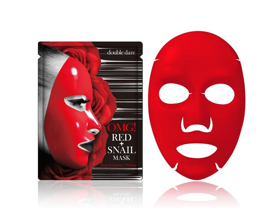 Купить DOUBLE DARE OMG! Маска преображающая с муцином и экстрактами 8 красных растений / RED Snail Mask 26 г