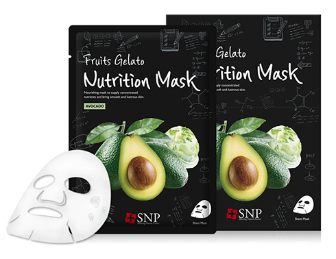 SNP Маска для лица / Fruits Gelato Nutrition Mask 25 мл~