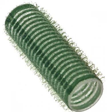 SIBEL Бигуди-лип.(10)S 21мм зеленые 12шт/уп Sibel-Бигуди<br>Бигуди 21 мм зелёные с внешним слоем ворсистой ткани липучка, 12 штук в упаковке. Бигуди на липучках дают возможность очень быстро нанести их на волосы благодаря наличию на них мелких ворсинок липучек, они не закрепляются на волосах специальными приспособлениями, поэтому позволяют довести локон до самых корней волос не оставляя следов от зажимов и резинок.<br>