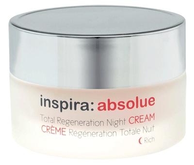 INSPIRA COSMETICS Крем-лифтинг обогащенный регенерирующий ночной / Total Regeneration Night Cream Rich INSPIRA ABSOLUE 50 мл