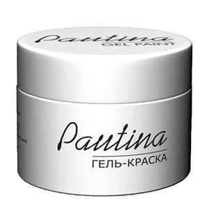 RUNAIL Гель-краска для дизайна ногтей, белая / Pautina 5 г