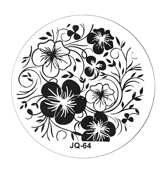 TNL PROFESSIONAL Трафарет металлический малый для стемпинга Герб (в индивидуальной упаковке)