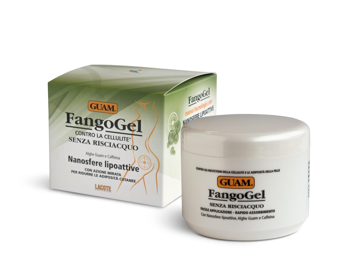 Купить GUAM Гель антицеллюлитный с липоактивными наносферами для тела / Fangogel 400 мл
