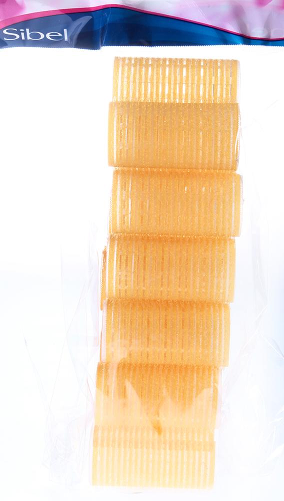 SIBEL Бигуди-лип.(10)S 32мм желтые 12шт/уп Sibel-Бигуди<br>Бигуди-липучки Sibel VELCRO 4123549. Длина 60 мм, диаметр 32 мм. Упаковка 12 шт. Цвет: желтый.<br>