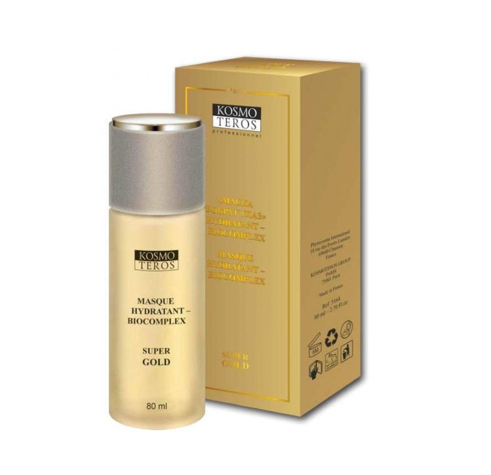 KOSMOTEROS PROFESSIONNEL Маска вокруг глаз / Hydratant-Biocomplexe Super Gold 80 мл.