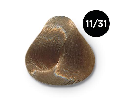 OLLIN PROFESSIONAL 11/31 краска для волос, специальный блондин золотисто-пепельный / OLLIN COLOR 60 мл