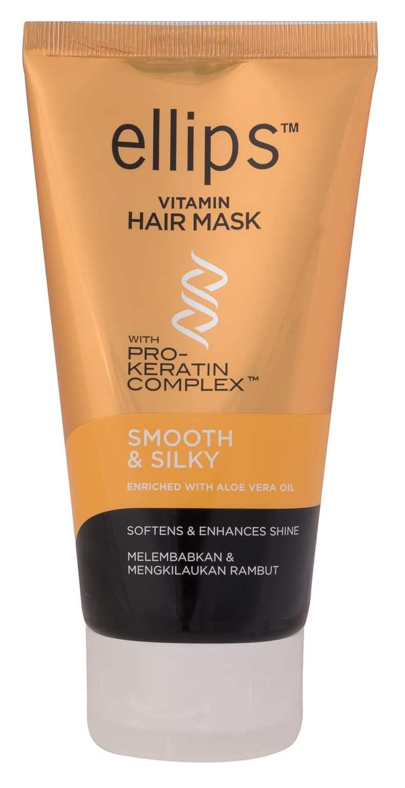 Купить ELLIPS Маска с кератиновым комплексом для светлых волос / Pro-Keratin Smooth & Silky 120 г